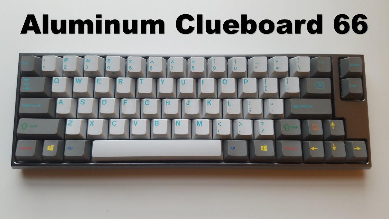 Clueboard 66 V1: review and V2, V3, V4 speculation