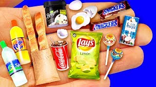 24 DIY MINIATURE FOOD REALISTIC HACKS AND CRAFTS COLLECTION!!!