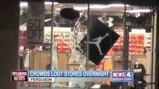 Riots looting gunfire and chaos near Ferguson Missouri  KMOV com St  Louis