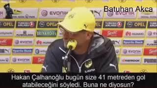 Hakan Çalhanoğlu 41 Metre Gol Türkün Gücü