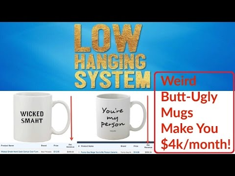 Low Hanging System Review Bonus - Passive Income With Mug eCommerce