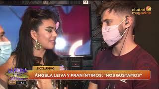 CUPIDO HIZO SU MAGIA Ángela Leiva y Fran íntimos: