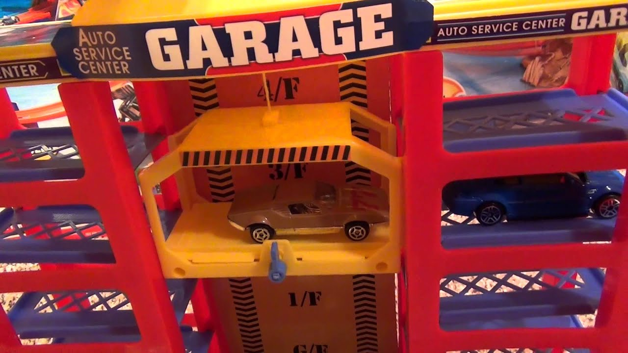 Modern Parking Garage Playset From Polyfect Toys Hot Wheels