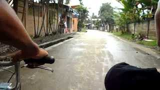 Riding a Sikad Down Daisy Road in Guiwan Barangay