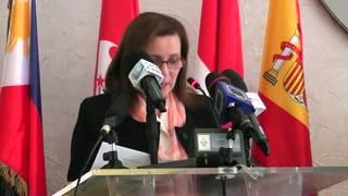 كلمة السيدة مونية مسلم سي عامر وزيرة التضامن الوطني و الاسرة و قضايا المراة