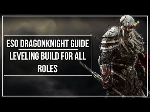 Eso Dragonknight Dps Leveling Build