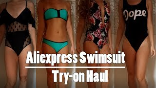 Aliexpress Swimsuit Try on Haul Under 9$ | Expectation vs Reality