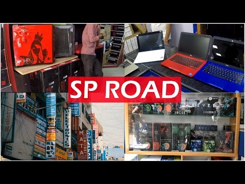 SP ROAD | Electronic Market | Best Place To Buy Laptops | Bangalore | [Cinematic]