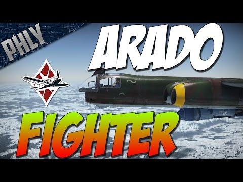 War Thunder ARADO FIGHTER! Arado Ar-234C-3 Jet Bomber Gameplay