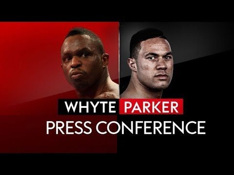 PRESS CONFERENCE! DILLIAN WHYTE VS JOSEPH PARKER 👊