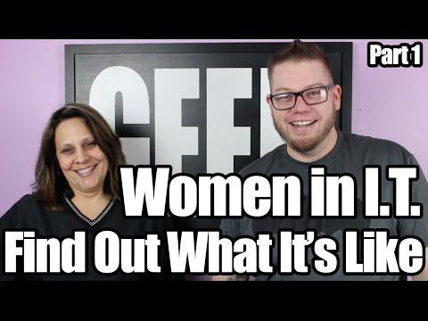 Women in I.T. -  IT careers for women.