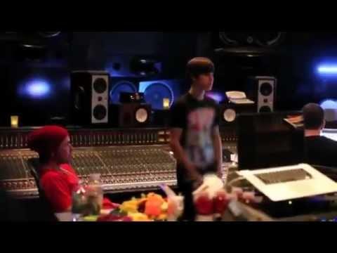 Justin Bieber - As Long As You Love Me (Recording Studio)