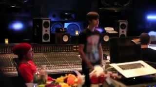 justin bieber as long as you love me recording studio