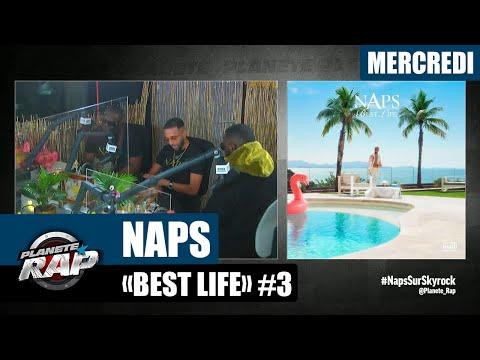 Youtube: Planète Rap – Naps«Best Life» avec Gims, Thabiti, Ivory et Fred Musa! #Mercredi