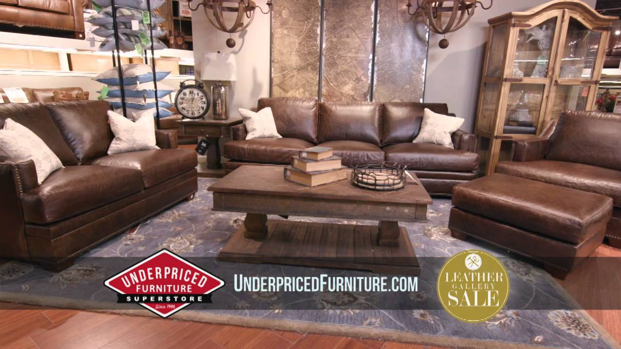 Underpriced Furniture Leather Gallery Grand Opening YouTube