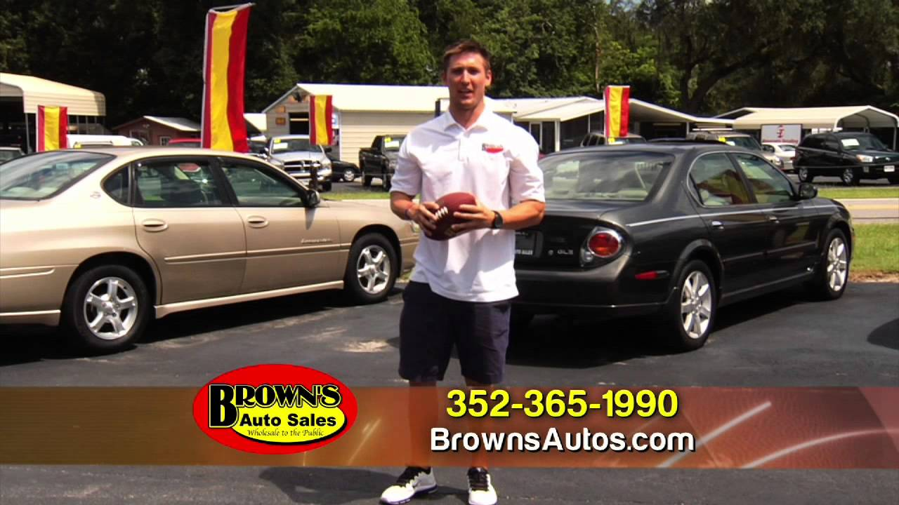 brown 39 s auto sales commercial leesburg florida youtube. Black Bedroom Furniture Sets. Home Design Ideas