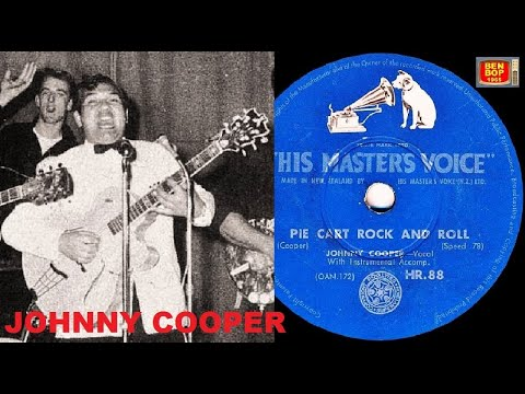 JOHNNY COOPER - Pie Cart Rock And Roll / Giddy Up A Ding Dong (1957)