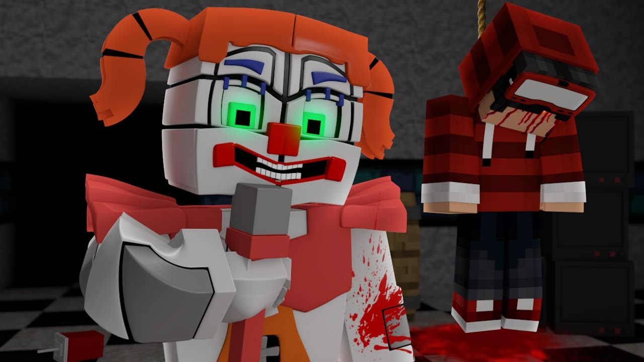 Minecraft FIVE NIGHTS AT FREDDYS SISTER LOCATION 04