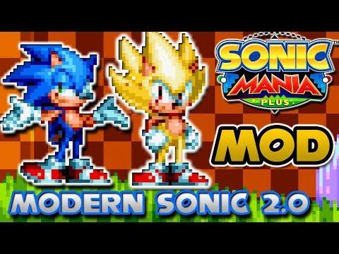 Sonic Mania Plus MOD: Sonic Moderno 2.0 - En Español
