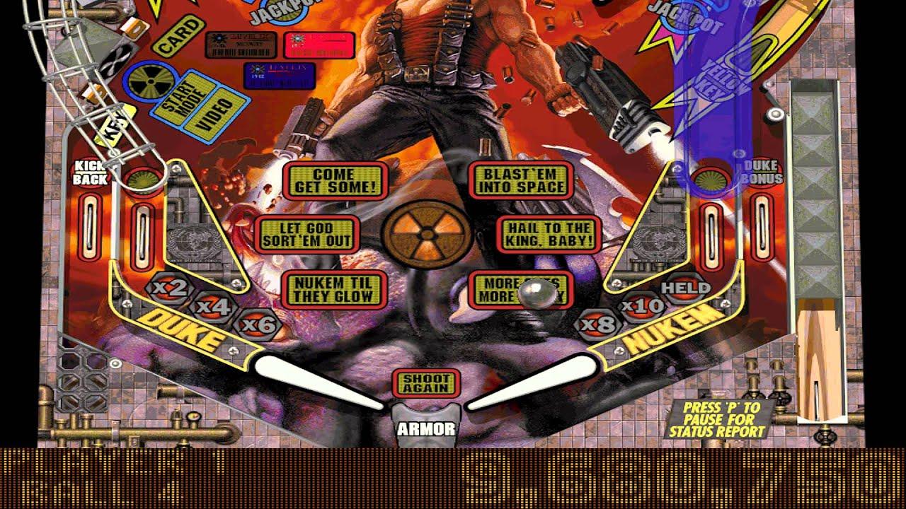 Balls Of Steel Duke Nukem Table Gameplay Youtube