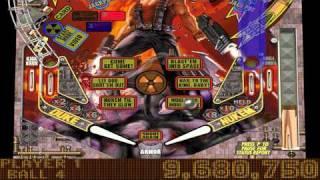 Balls of Steel - Duke Nukem Table Gameplay