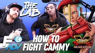 Cammy: The Lab // Tutorial by Tyrant and Packz // Street Fighter V Arcade Edition