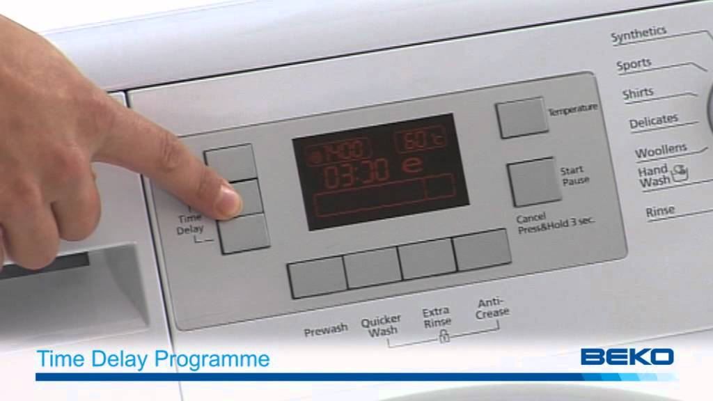 The Excellence Range Of Washing Machines Beko Youtube