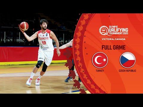 Turkey v Czech Republic   Full Game - FIBA Olympic Qualifying Tournament 2020