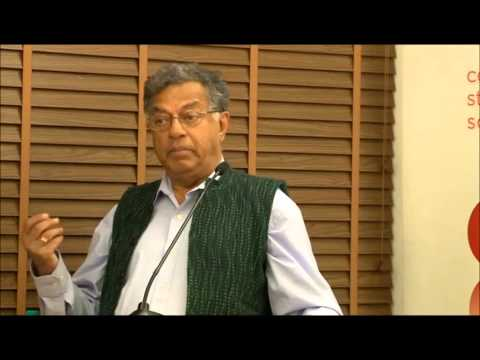 Girish Karnad at CSDS, Golden Jubilee Lecture, Intro and Part 1