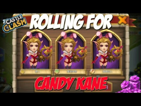 Castle Clash Rolling Gems For Candy Kane