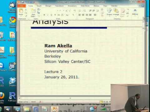 Data Mining 1-26-2011