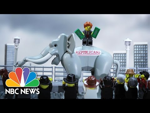 Party Crashers: A Political History With LEGOs | NBC News