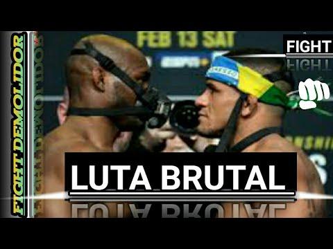 Luta completa de Gilberto Durinho VS Kamaru usman.