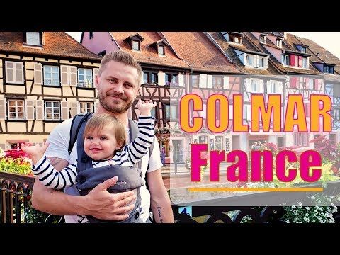 A Tour through Beautiful Colmar in Alsace, France!