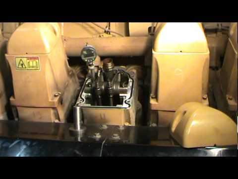 Caterpillar G3520C valve recession