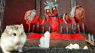 MAJOR HAMSTER vs CAT dr. MAX 2: Volcano TREASURE HUNT