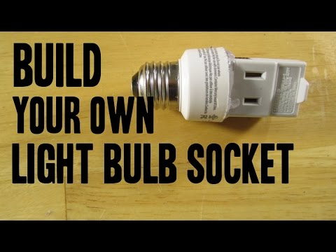 Universal Socket Adapter Out Of Light Bulb Life Hack