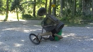Rudy Project 2 / Drift Trike on Gravel Roads