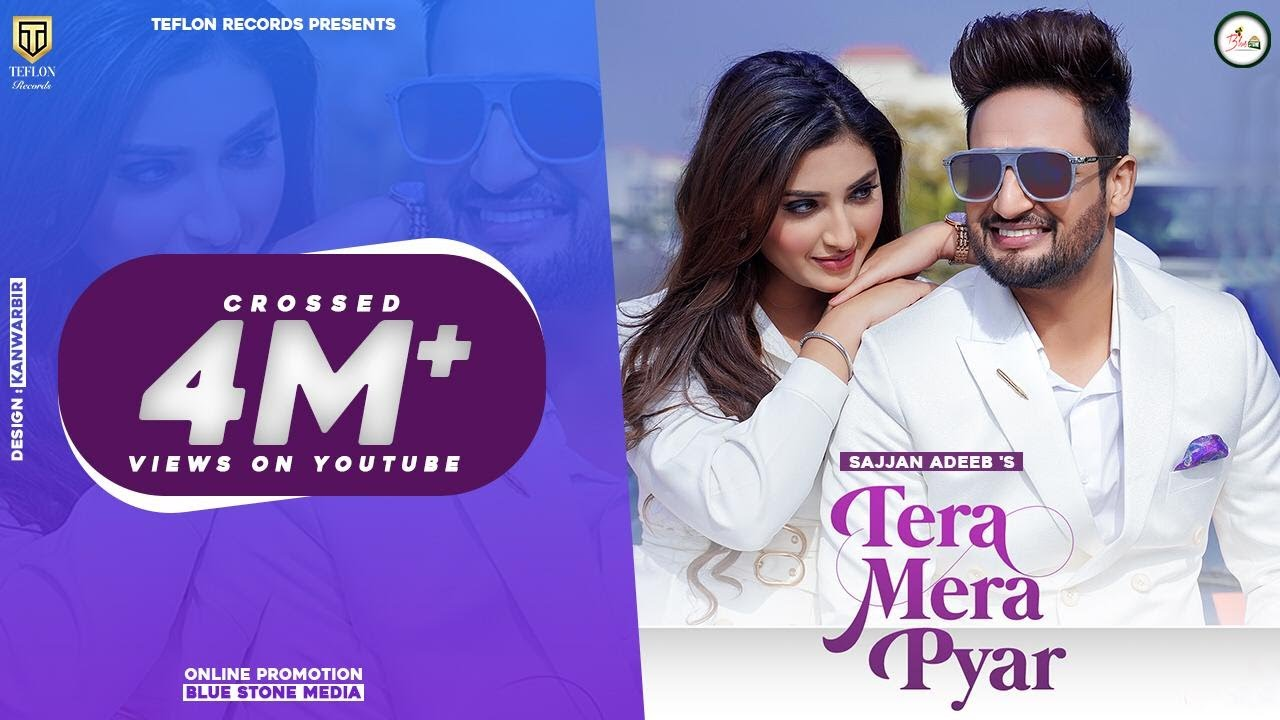 Tera Mera Pyar  Lyrics Sajjan Adeeb, Simar Kaur