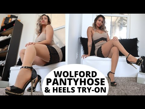 WOLFORD TRY-ON & NEW HEELS!