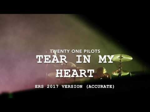 (accurate) twenty one pilots - Tear In My Heart [ERS 2017 Version] WITH REMIX AT THE END