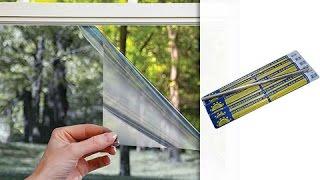 видео Солнцеотражающее стекло