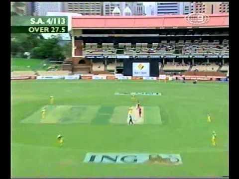 $50,000 ING SIX! GRAHAM MANOU 2002/03 Adelaide Oval