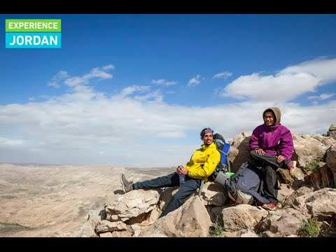 Hiking the Jordan Trail - Wadi Mujib, Hidan and Zarqa Main.