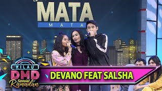 Devano Feat Salsha, Seneng bgt Melihat Keuarga Isda Nyanyi Bareng - Kilau DMD (12/6)