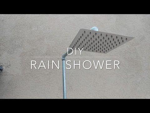 DIY Rain Shower
