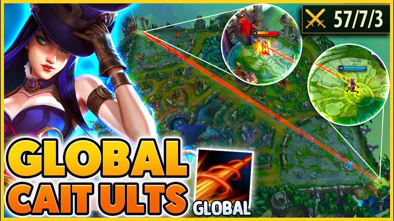 YOU WON'T BELIEVE how I got a GLOBAL CAIT ULTIMATE (SECRET URF) - BunnyFuFuu | League of Legends