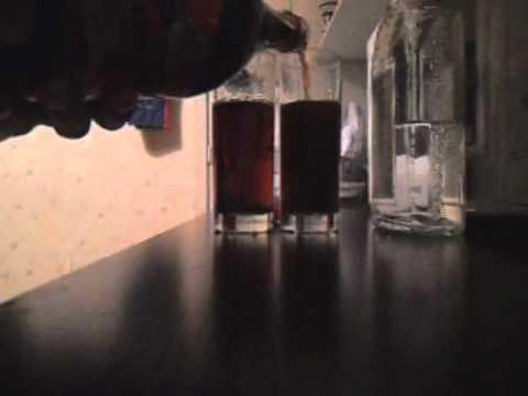 Как не надо пить текилу бум с колой :DDDDD