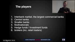 Forex Webinar 1B How Does the Forex Work