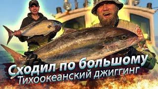 В ОКЕАН ЗА БОЛЬШИМИ РЫБАМИ Тихоокеанский джиггинг Морская рыбалка 2019 12